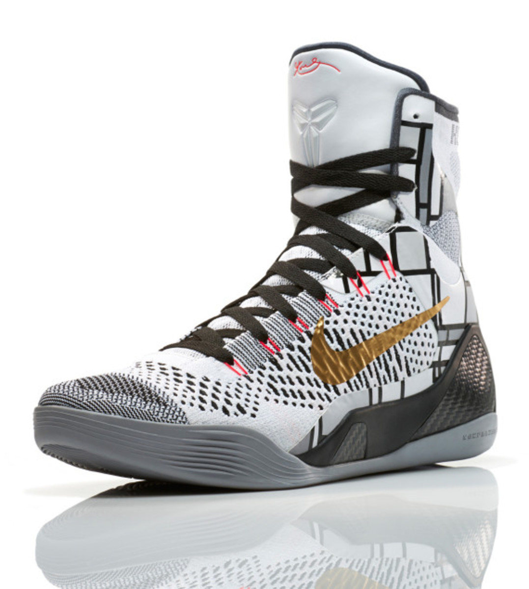 new concept 98703 2e56b Nike Kobe 9 Elite Gold   Officially Unveiled