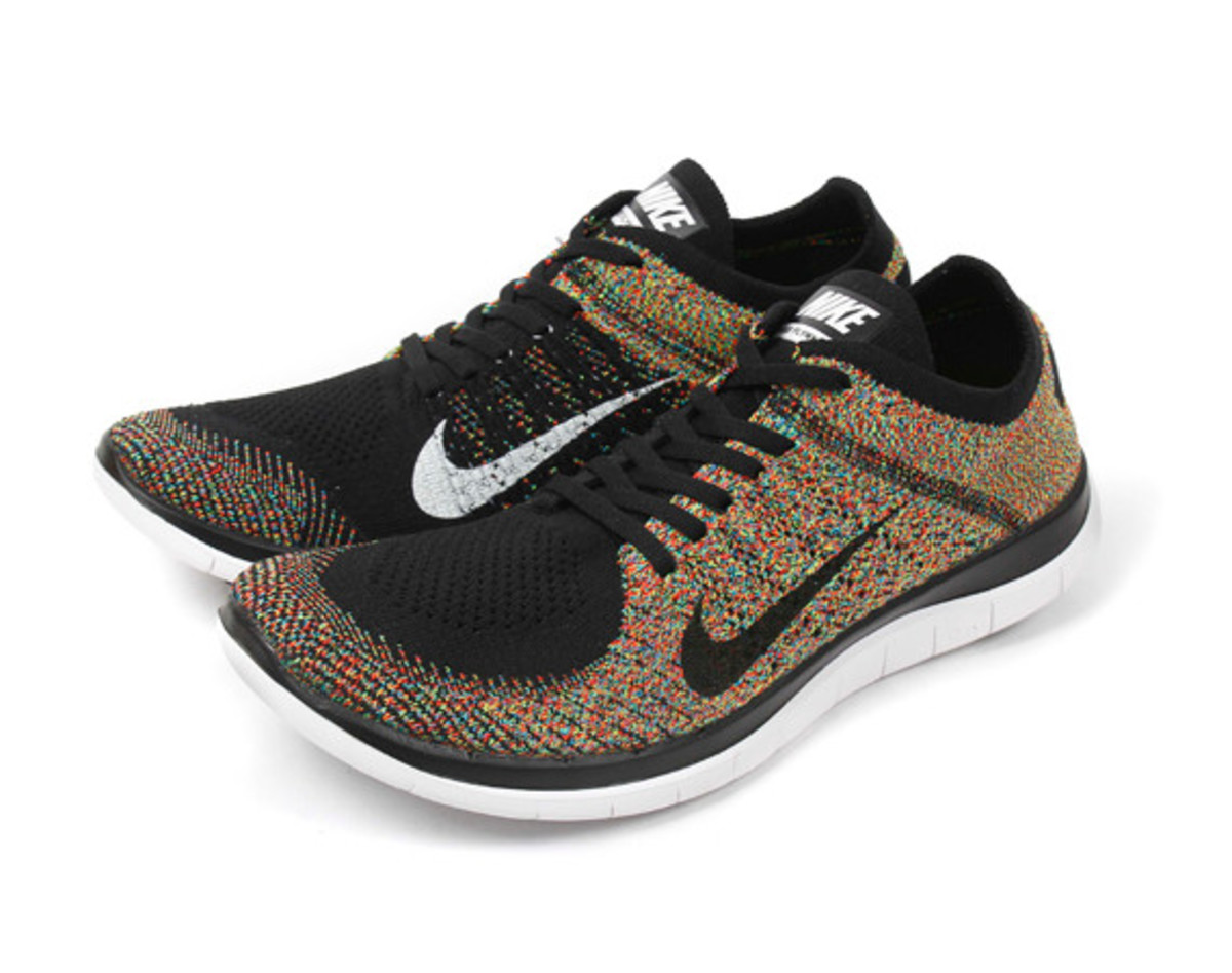 nike free 4 0 flyknit multicolor freshness mag. Black Bedroom Furniture Sets. Home Design Ideas