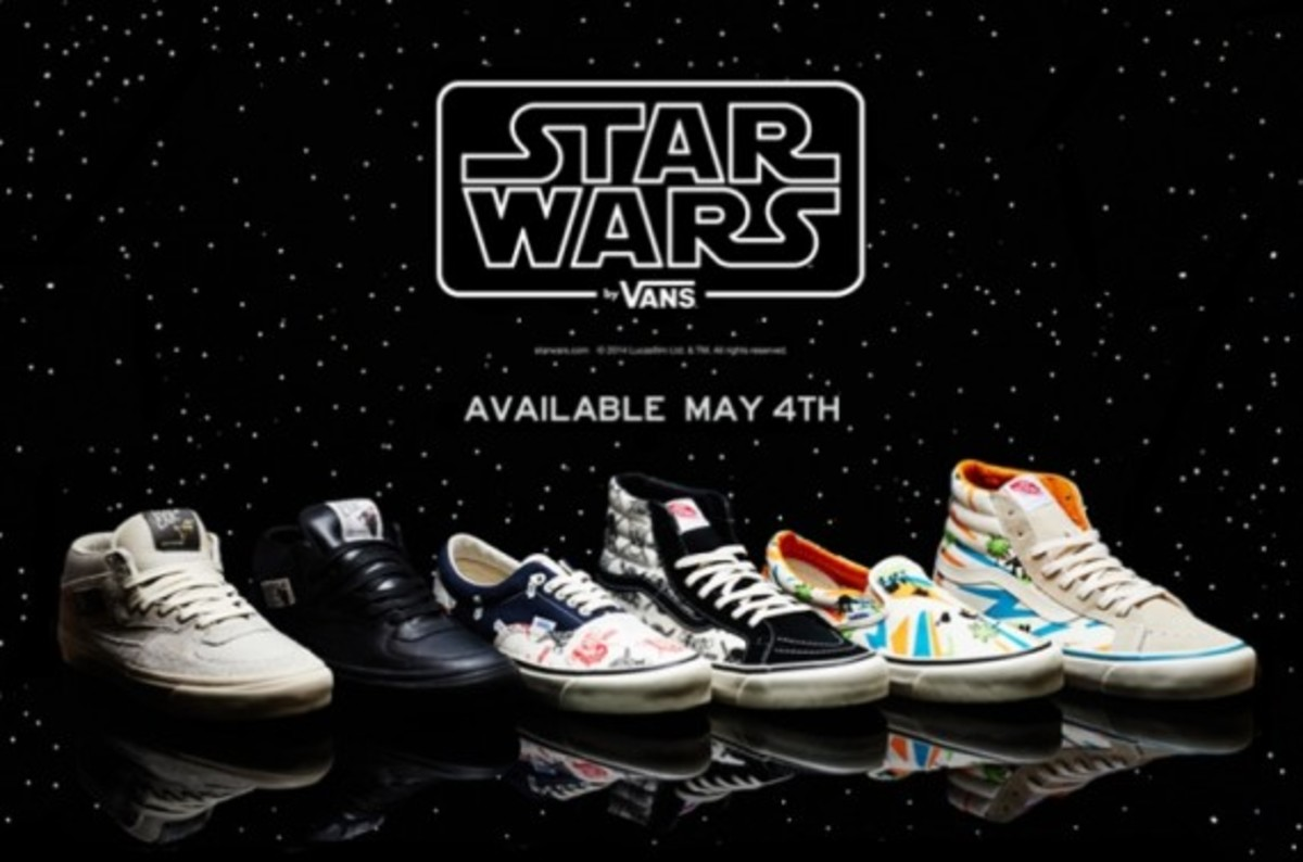 71d41c2fda7ee6 Vans Vault x Star Wars - Summer 2014 Collection - Freshness Mag