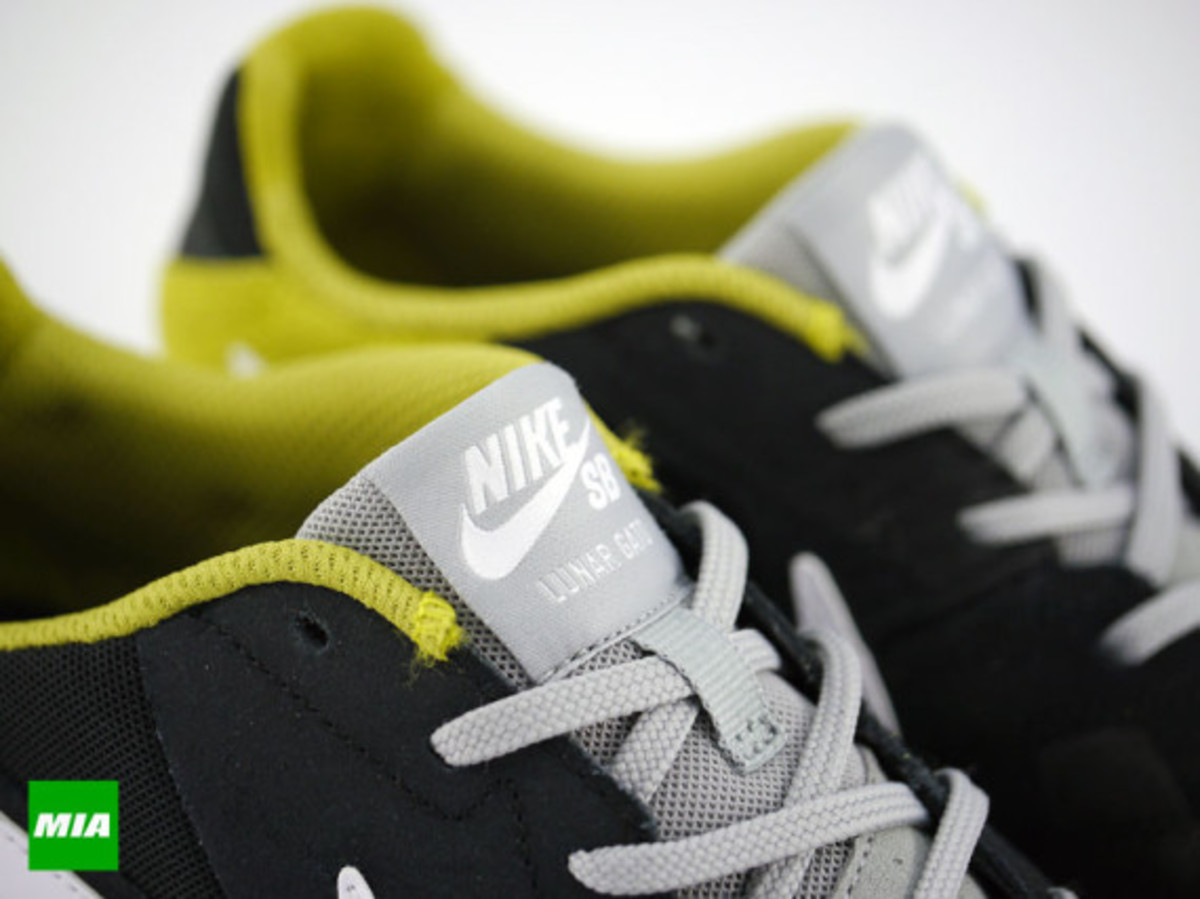 buy popular 85c28 7b294 Nike SB Lunar Gato - Black White Venom Green - Freshness Mag