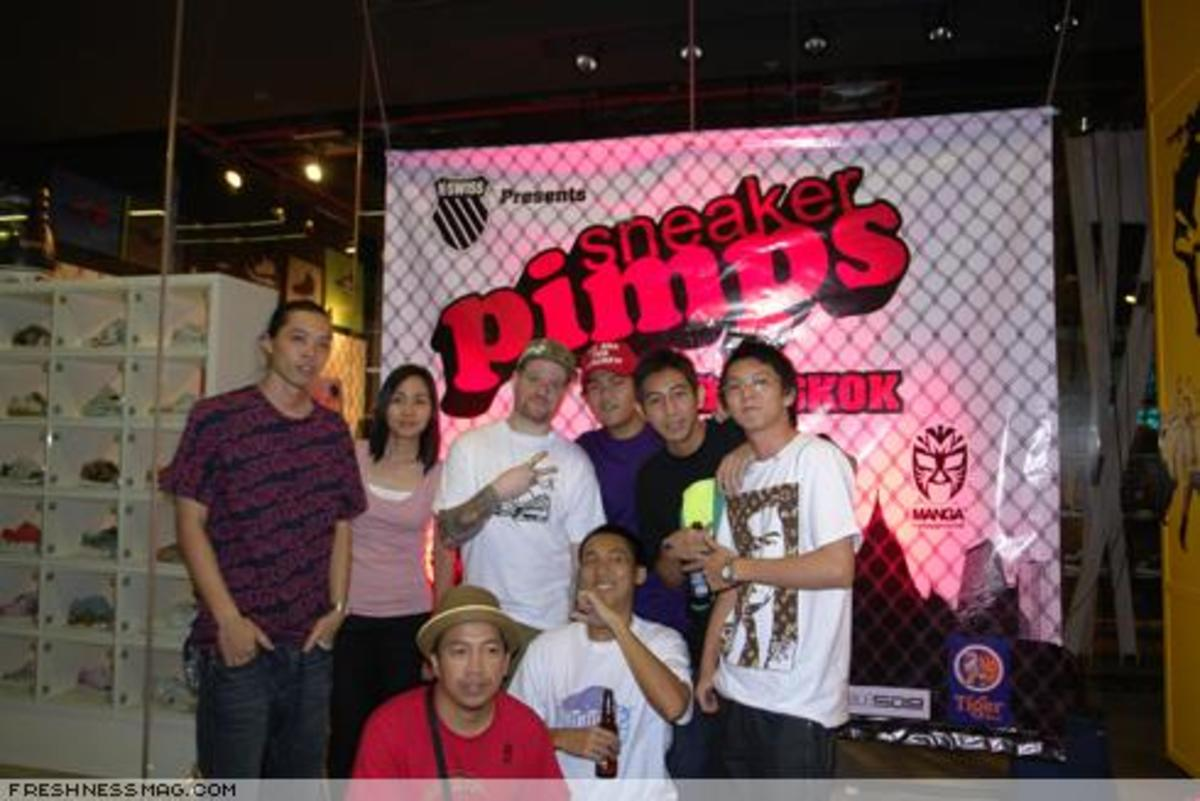 Sneaker Pimps Bangkok 2007 - Event Photos - 1