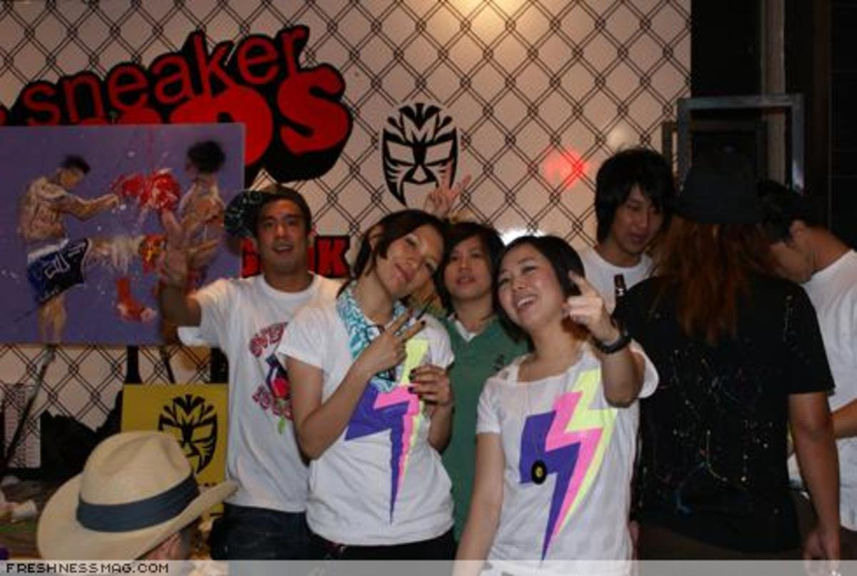 Sneaker Pimps Bangkok 2007 - Event Photos - 8