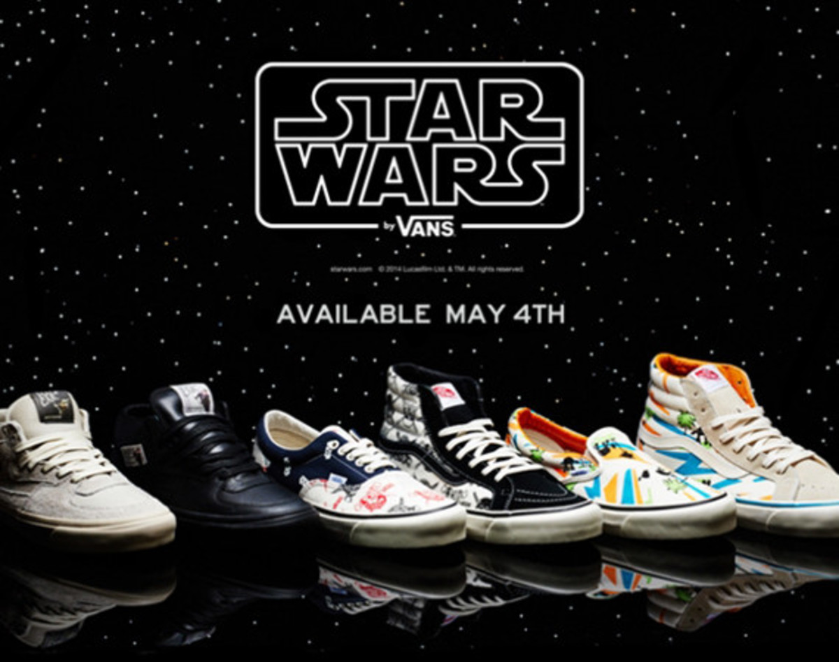 e0eb2425a5d81d Vans Vault x Star Wars - Summer 2014 Collection - Freshness Mag