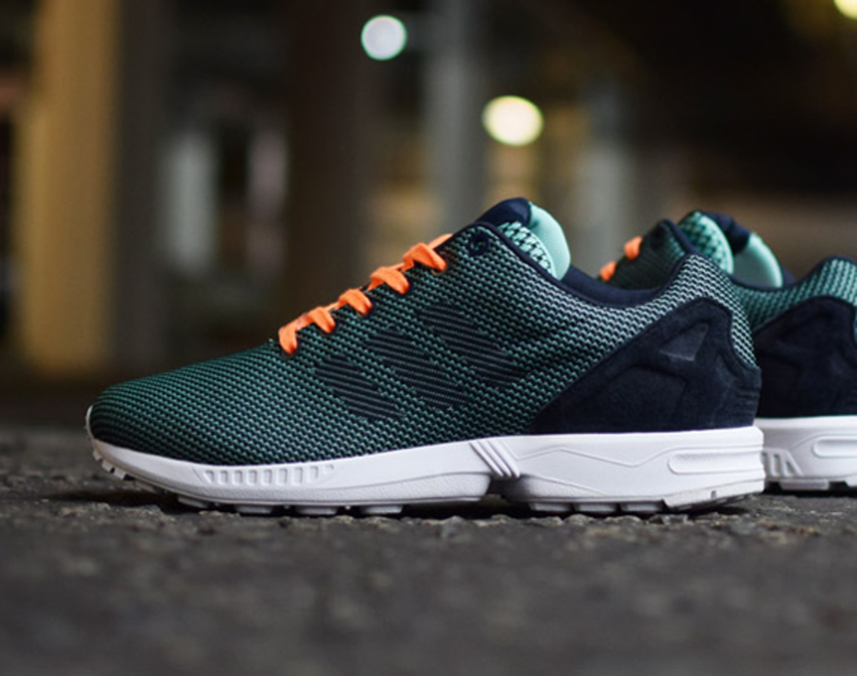 on sale 04809 9b133 shopping adidas zx flux mint green b3b3e c8c3e