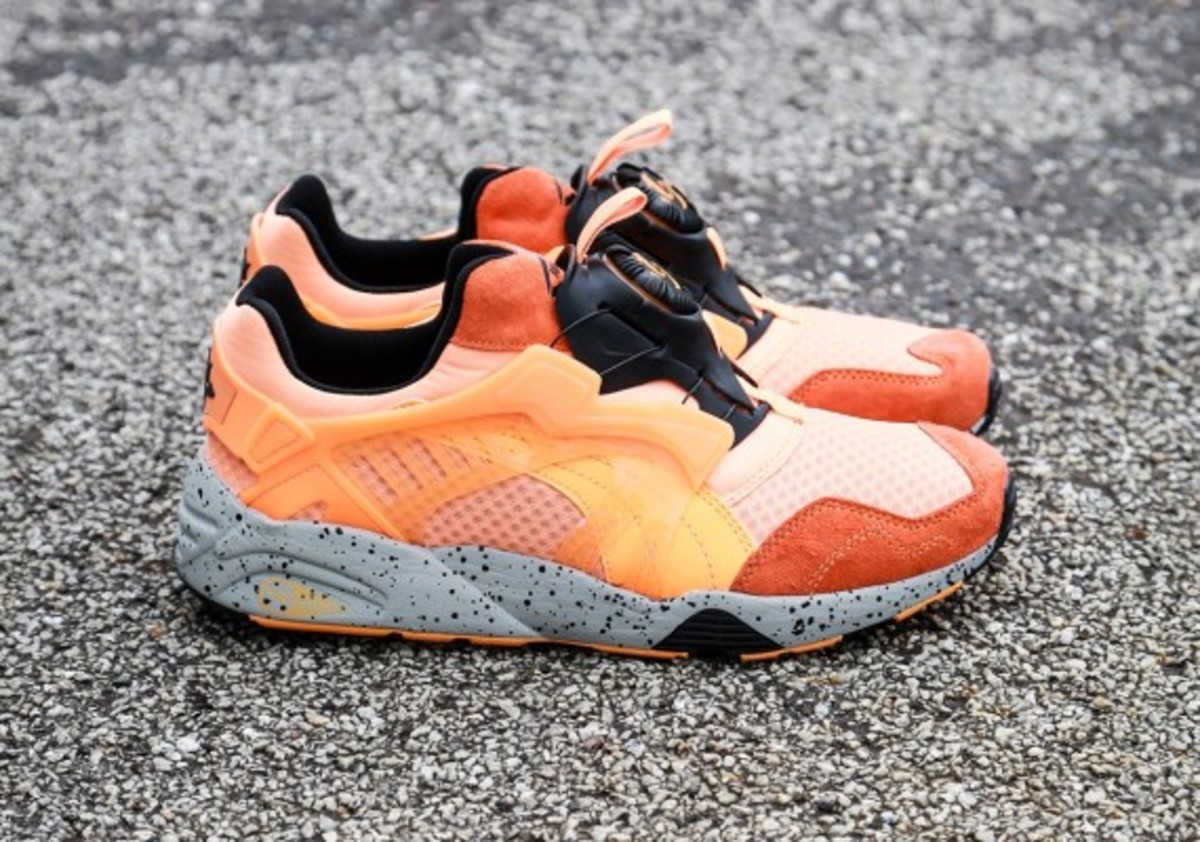 puma disc blaze mesh revolution fluro orange pre. Black Bedroom Furniture Sets. Home Design Ideas