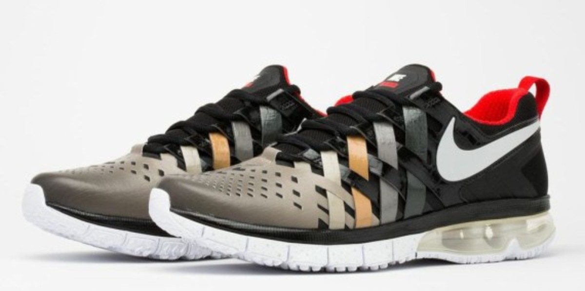 Nike Fingertrap Max NRG 678661-601 Challenge Red/Metallic Silver-Clear Grey-Black