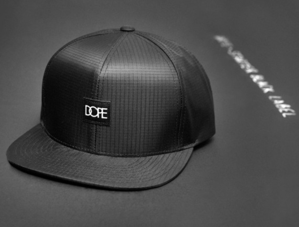 New to DOPE s summer 2014 product line-up is its latest headwear  collaboration with Starter Black Label. Made from black ripstop nylon 3961aed6037b