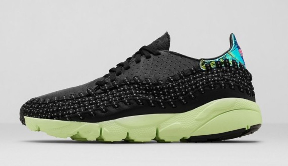 Air Footscape Woven MTN City 669515-060 Black/Pink Pow