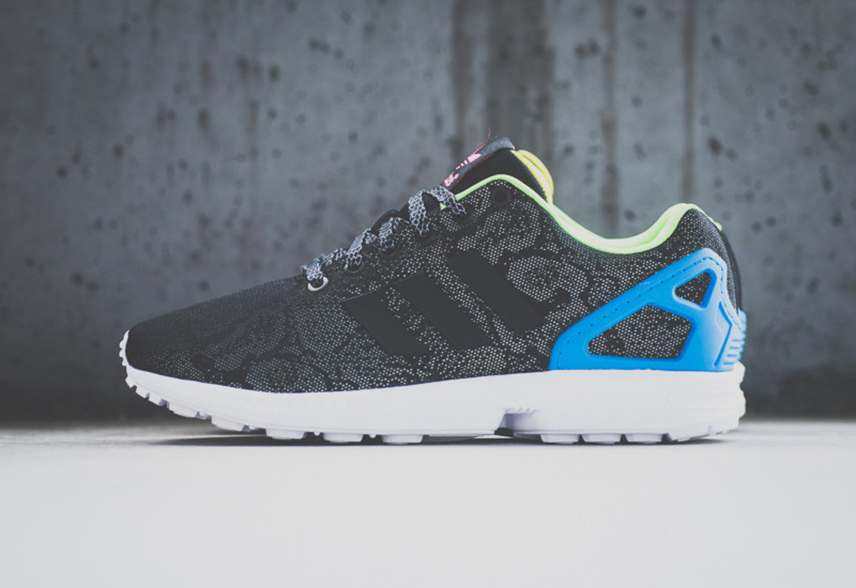 "new style on sale low price sale adidas ZX Flux - ""Black Reflective Snake"" - Freshness Mag"
