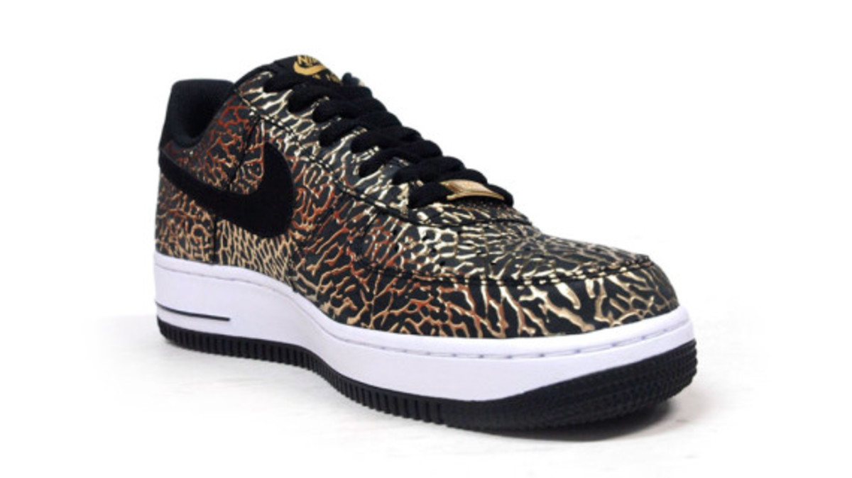 Nike Air Force 1 Low Gold Elephant Print   Available Now