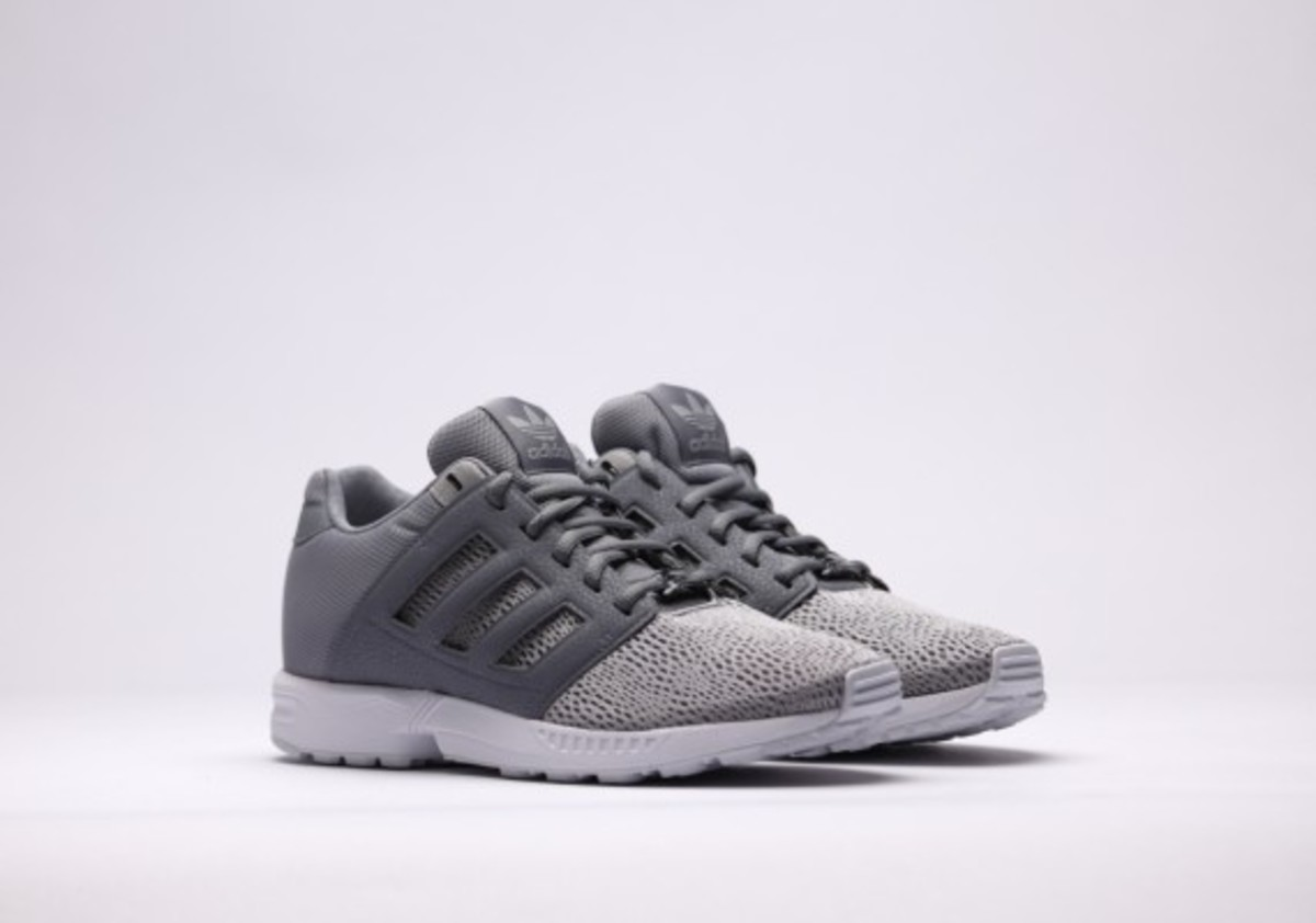Adidas Zx Flux Black Grey And White