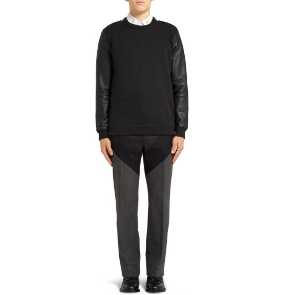 givenchy-leather-sleeved-cotton-sweater-06