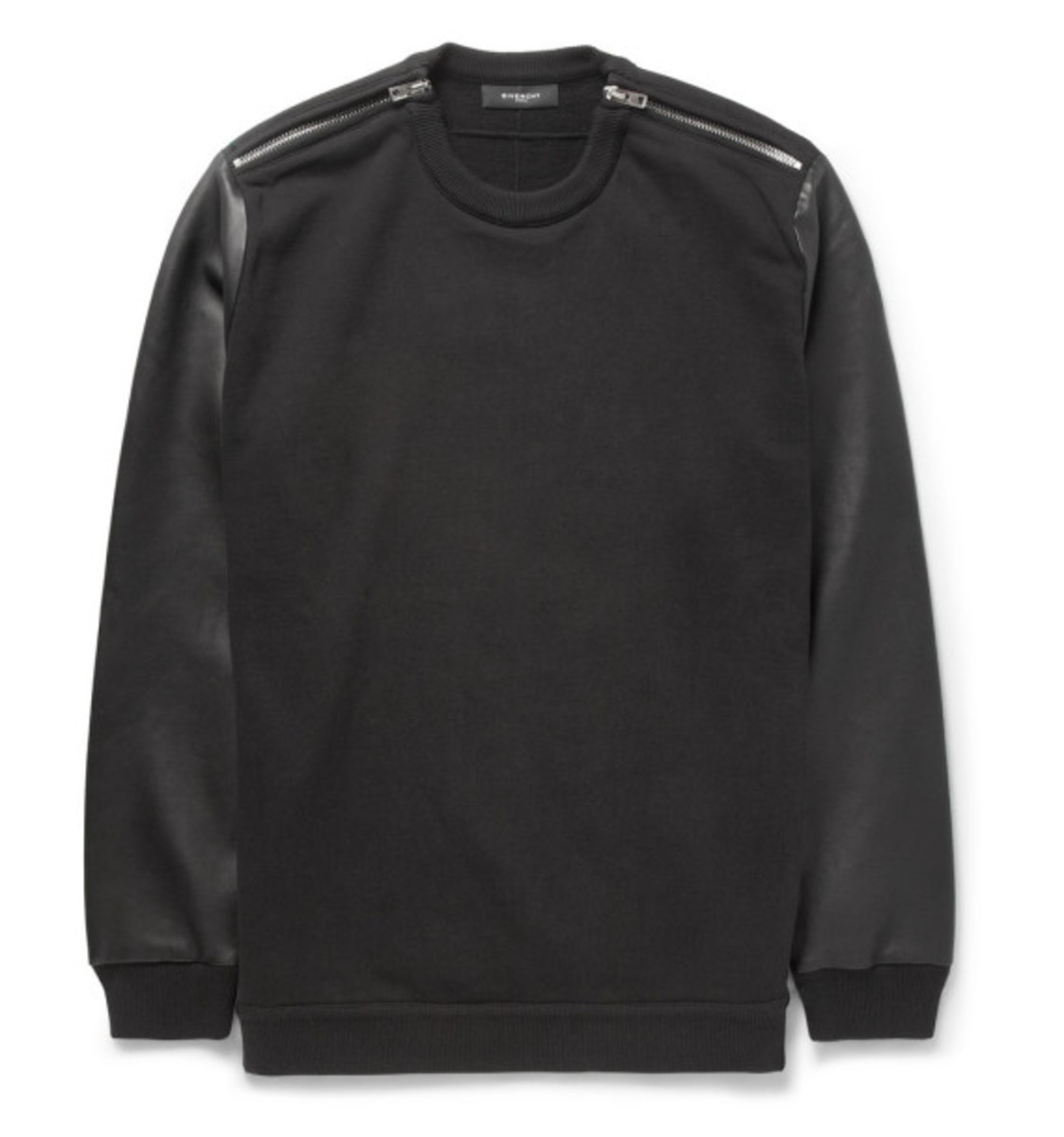givenchy-leather-sleeved-cotton-sweater-05