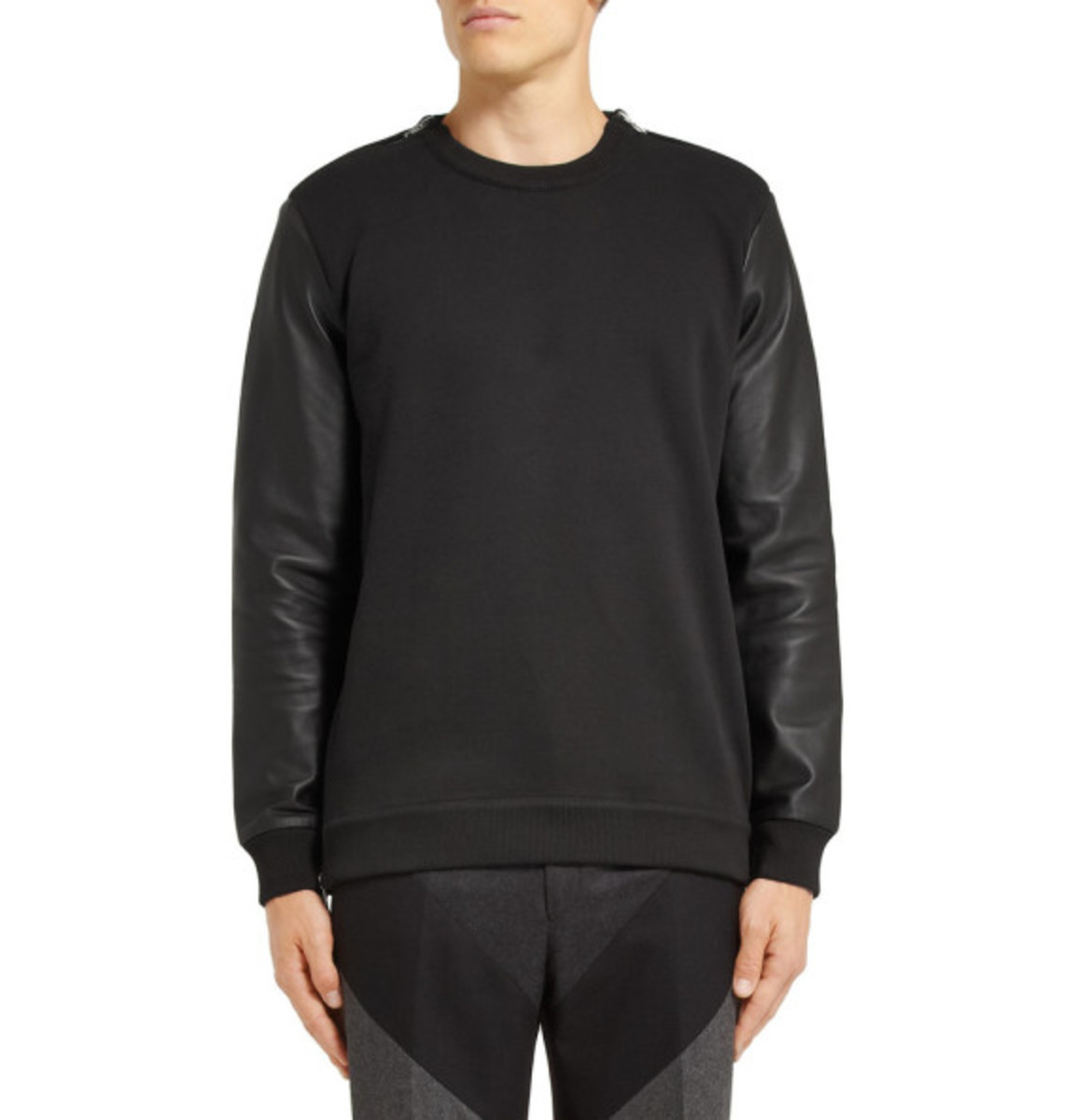 givenchy-leather-sleeved-cotton-sweater-02