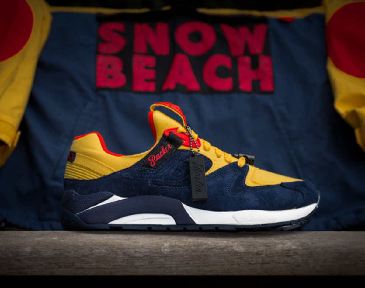 """Packer Shoes x Saucony Grid 9000 – """"Snow Beach"""" 