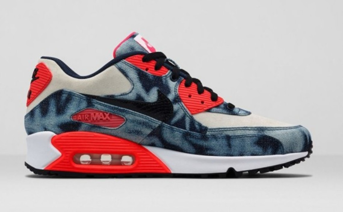 """Nike Air Max 90 """"Infrared Washed Denim"""" 