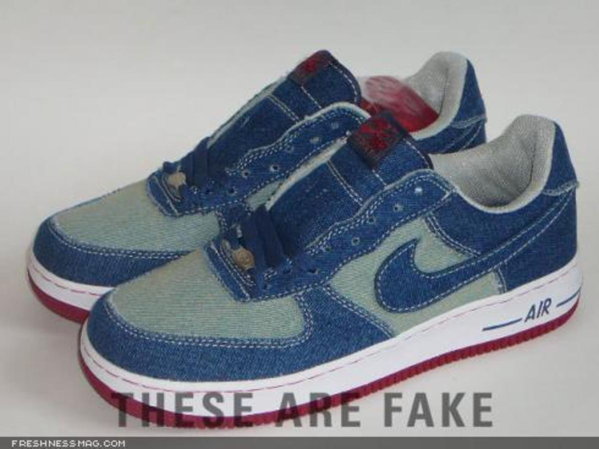 FAKE - Air Force 1 Denim - 0