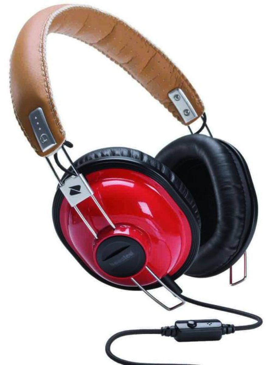 Boosted - Stiloso Headphones -Red