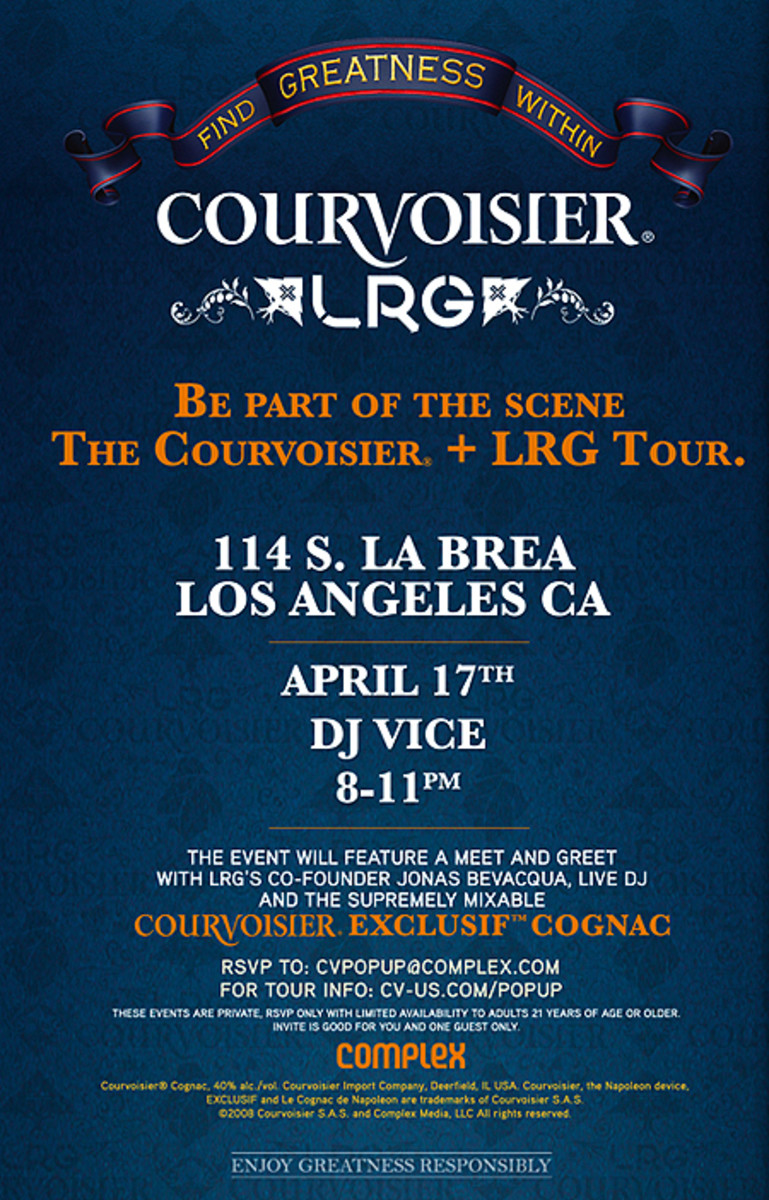 COURVOISIER x LRG - Pop-Up Event - Los Angeles