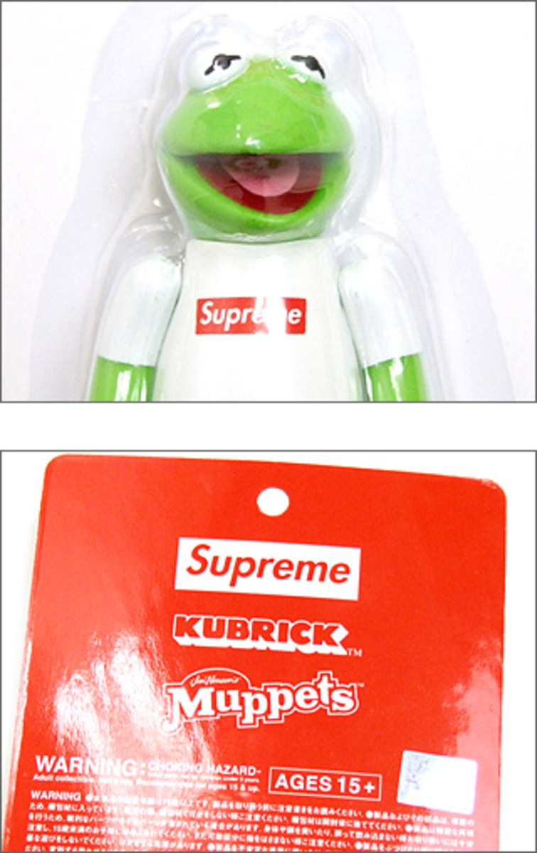 Supreme x Kermit x MEDICOM TOY - Now Available
