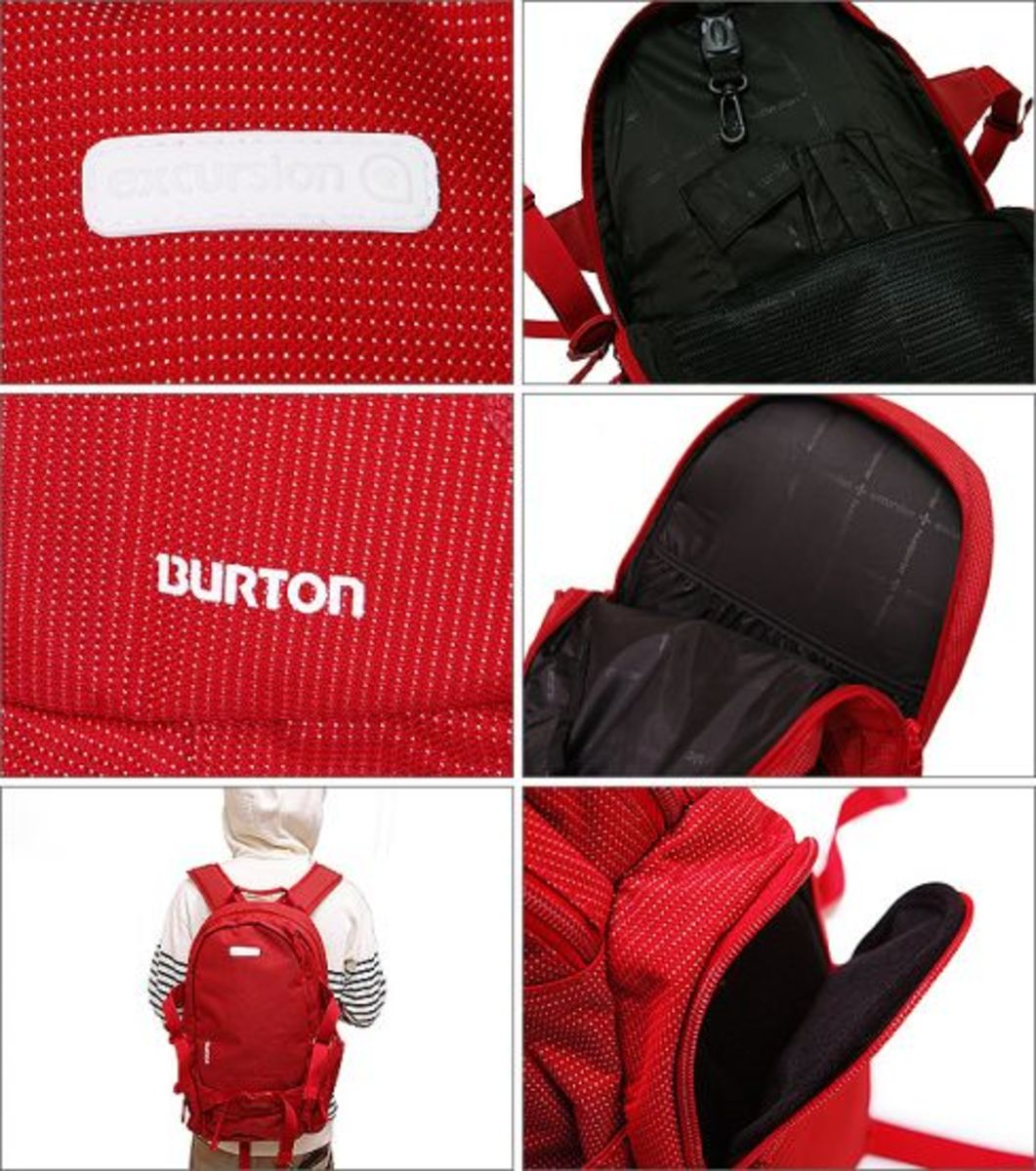 Burton x HEAD PORTER Plus - Excursion Collection - Day Hiker Pack - Red