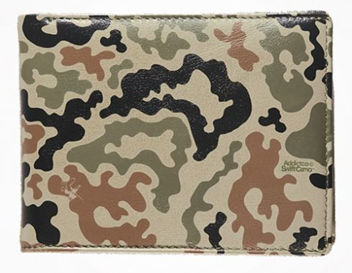 ADDICT x Swifty - Swift Camo Accessories - Wallet