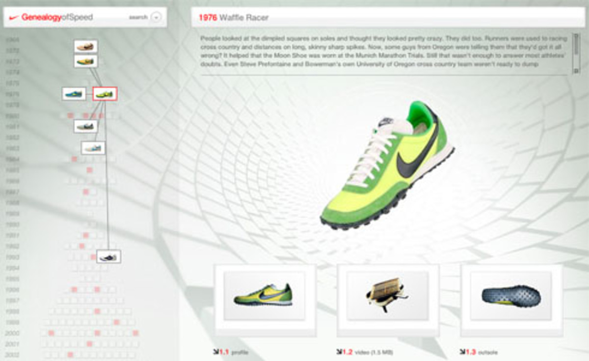 Nike  Genealogy of Speed - 0