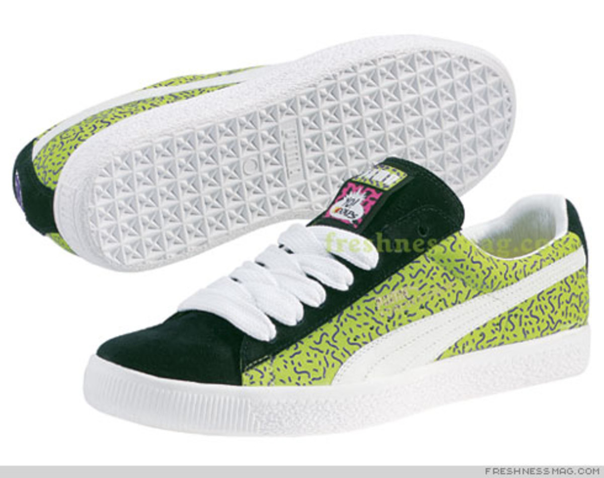 YO! MTV RAPS x PUMA Clyde - Green Colorway Contest - 0