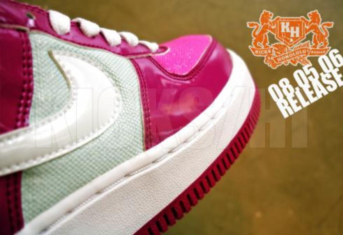 Nike  Air Force 1 Premium - Patent/Pink/White - 2