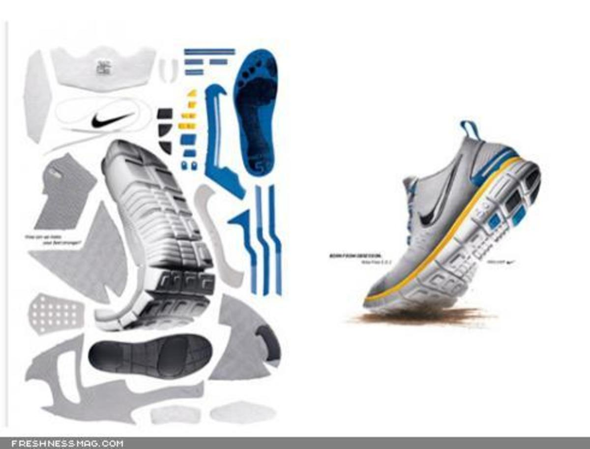 Nike  Paper Craft Sneakers - 6