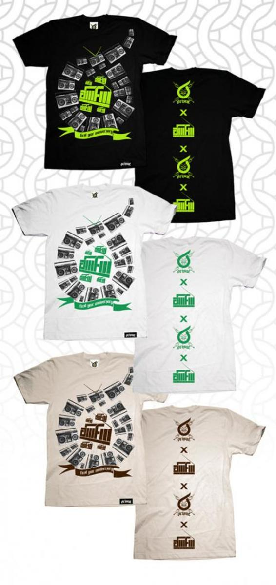 Orisue Clothing x AM/FM - T-Shirts - 2