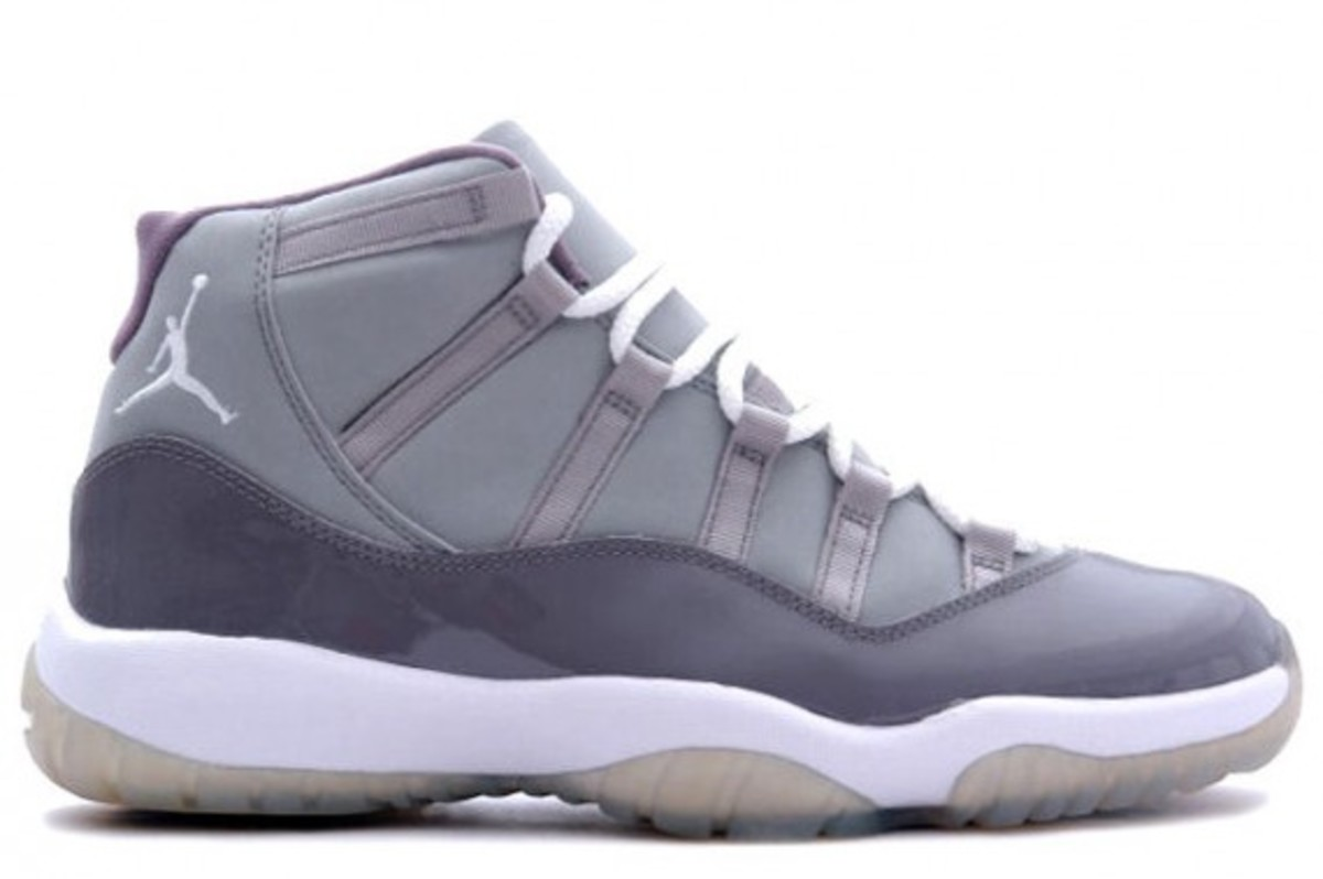 on sale 860a4 51cc0 Air Jordan XI (11) Retro - 'Cool Grey' | December 2010 ...
