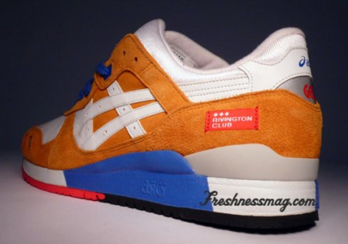 ASICS Gel Lyte III x Rivington Club - Curry + Grey