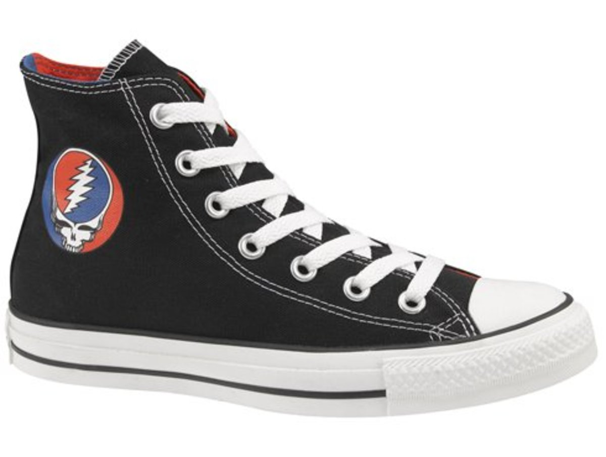 Converse - Chuck Taylor All Star Hi Grateful Dead - 106014F
