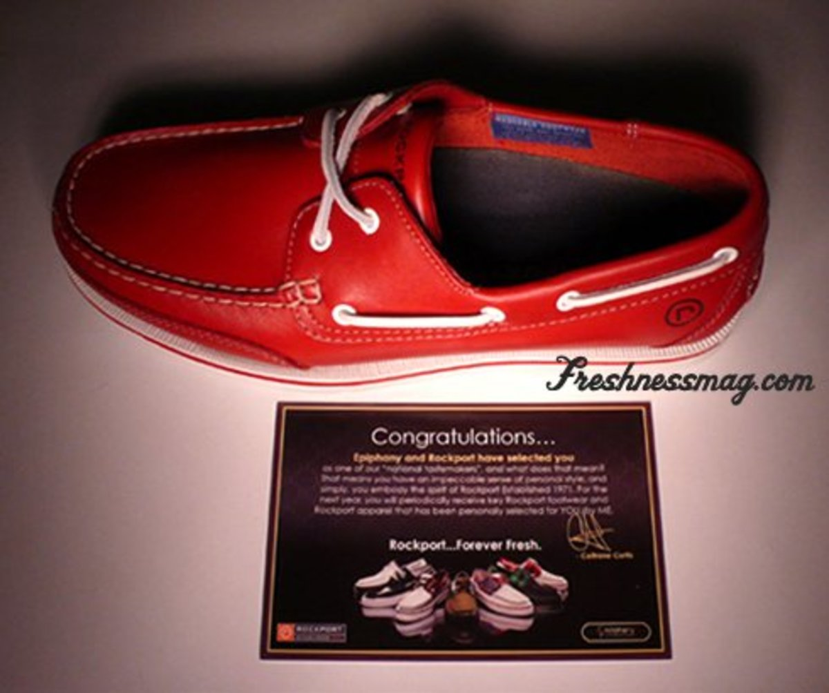 Rockport - Bridgeport Boat Shoe