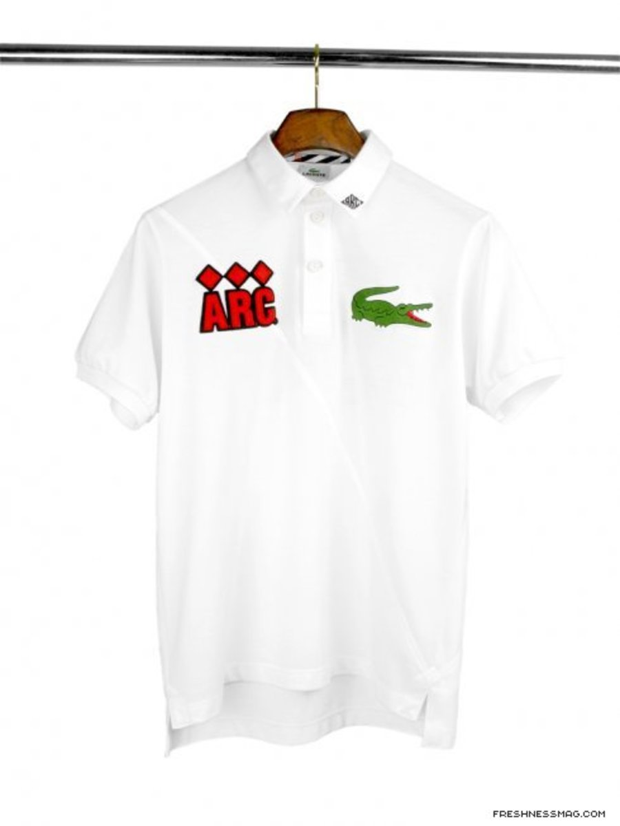 f3403306c A.R.C. x LACOSTE - Polo Shirts - Available Now - Freshness Mag