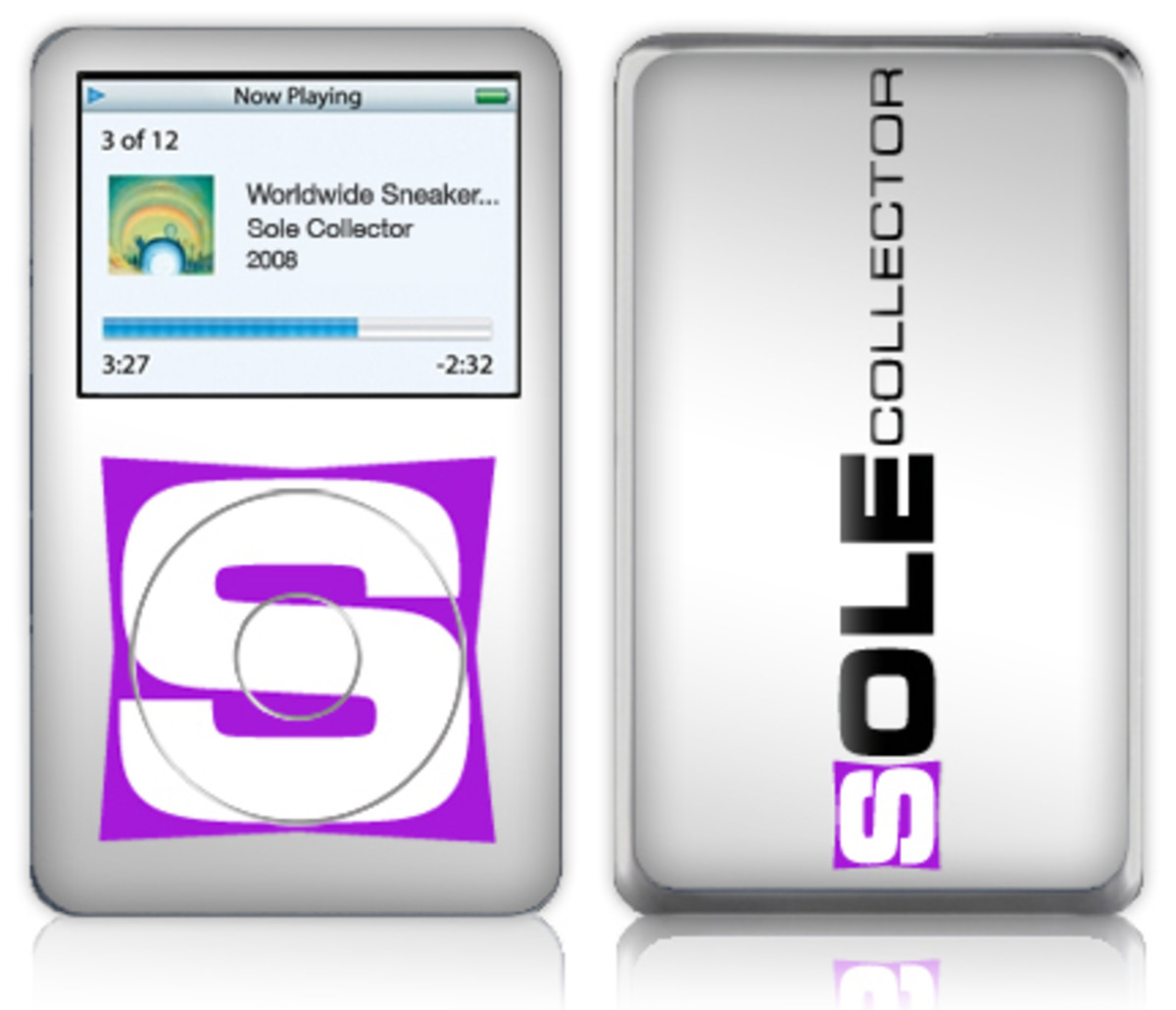 Music Skins x Sole Collector - iPod Video