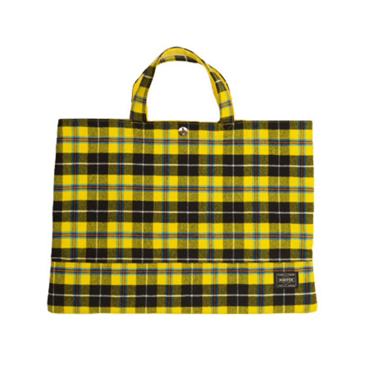 Tote Bag Wide Yellow