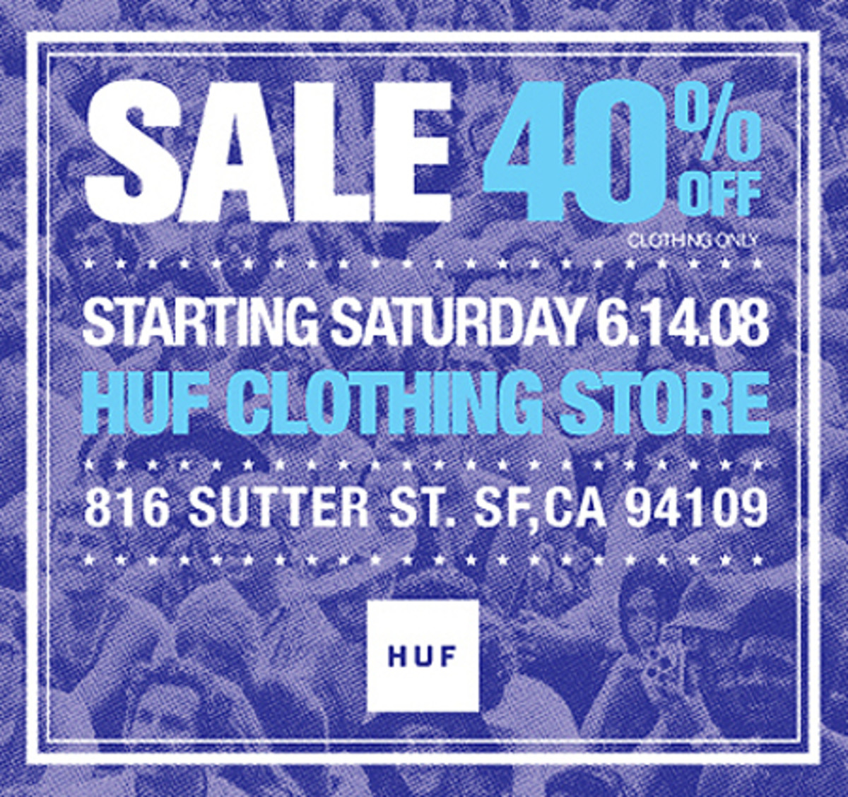 HUF SF - Sale