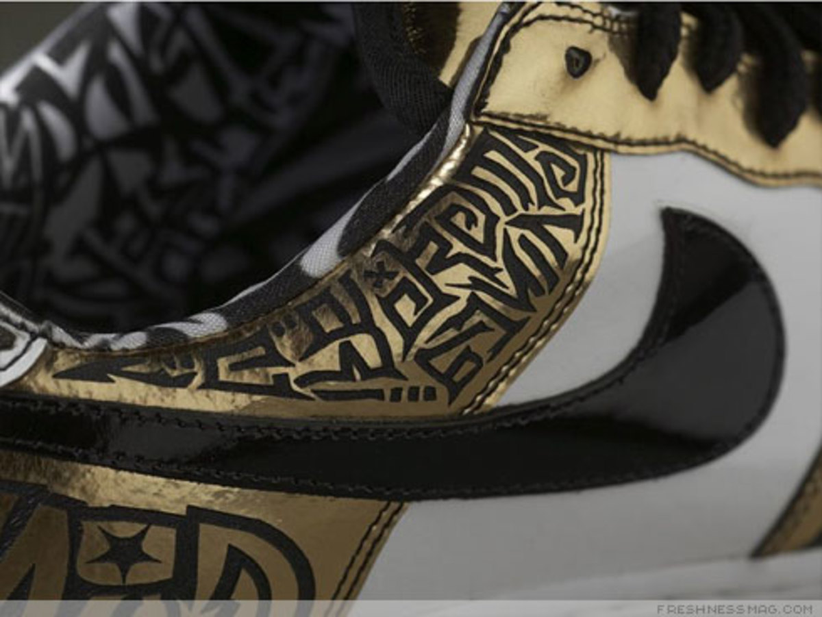 Nike x UNDFTD x Entourage - Turtle Air Force 1 - 7