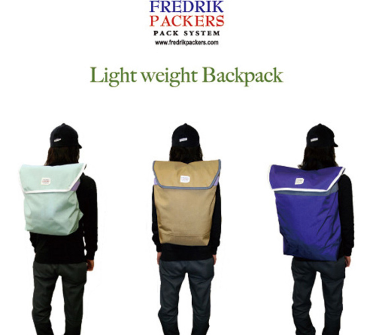 Light Weight Back Pack 1