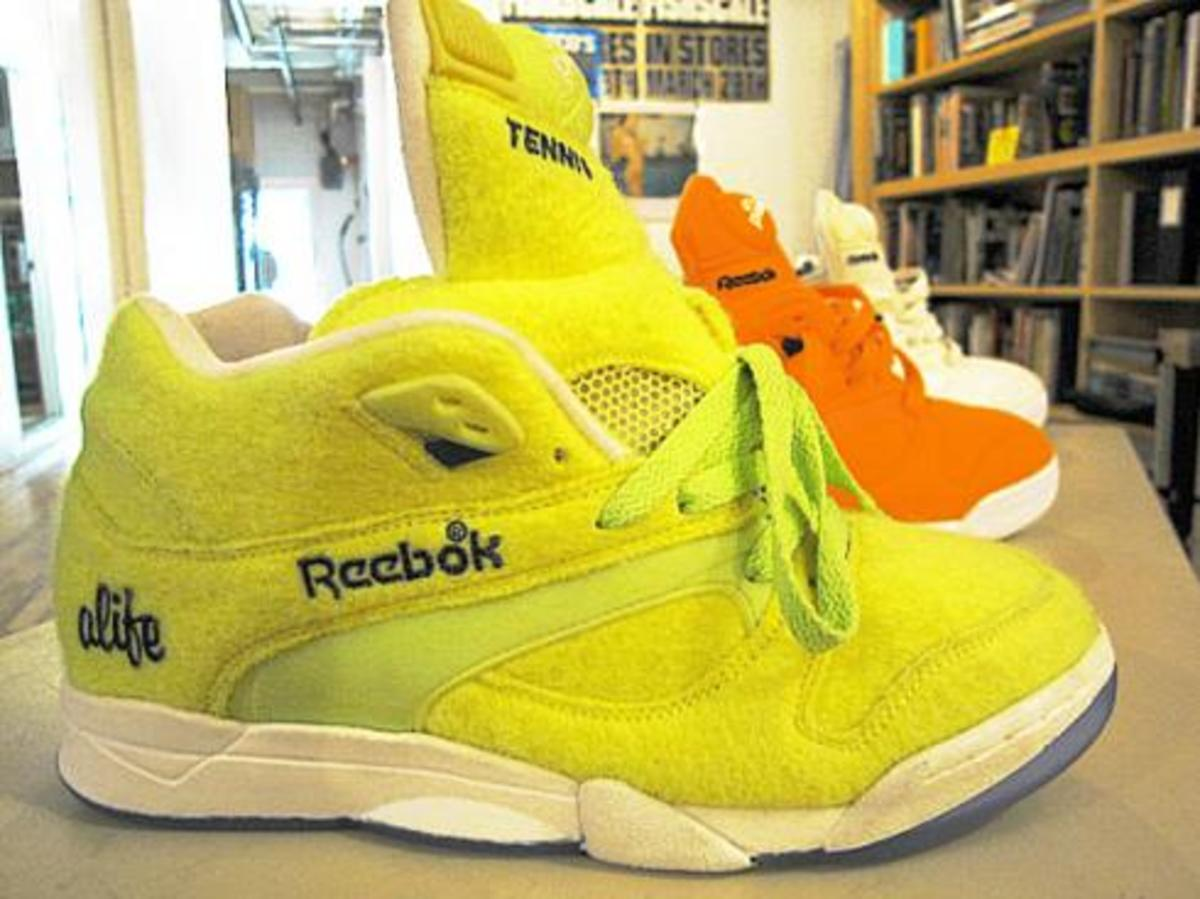 ALIFE x Reebok Court Victory Pump Pt.2 Orange - 0