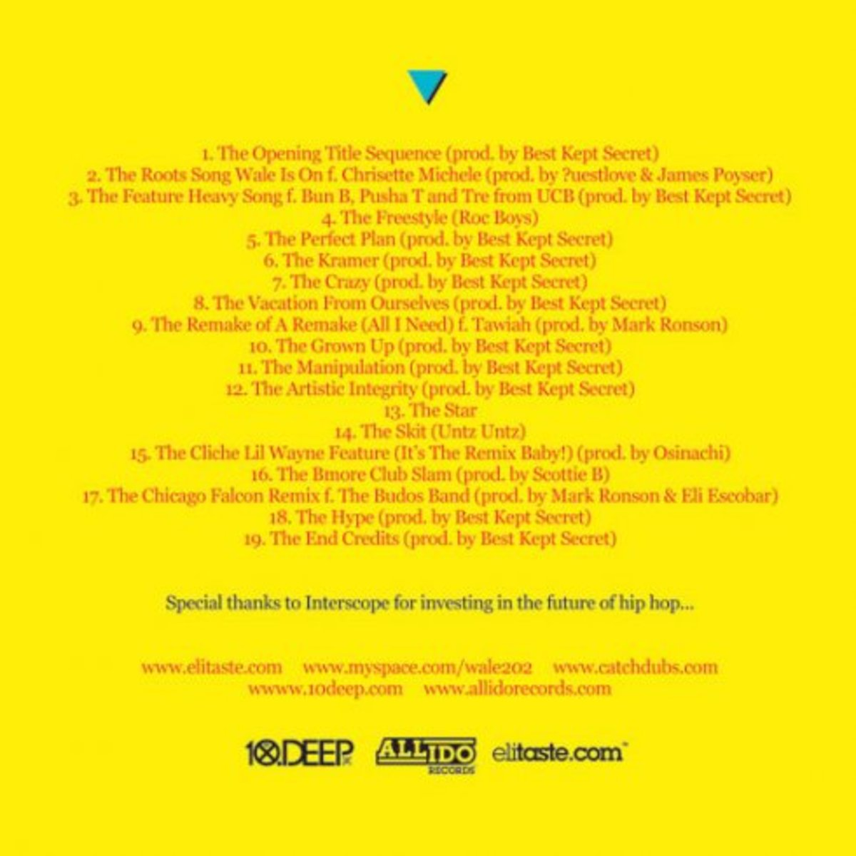 Wale - The Mixtape About Nothing - 1