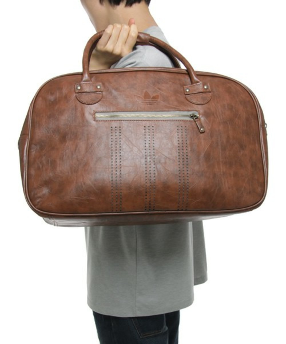 f59285cbbcba adidas Originals - HERI SPO HOLDALL Leather Duffle Bag - Freshness Mag