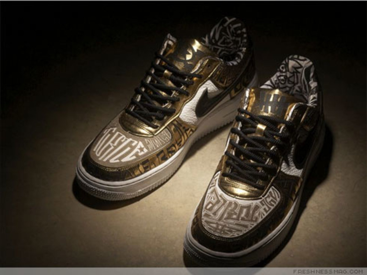 Nike x UNDFTD x Entourage - Turtle Air Force 1 - 14