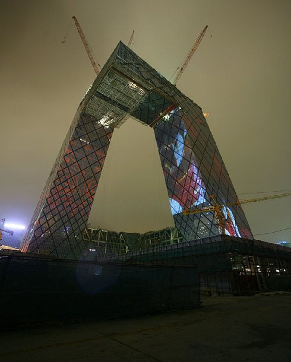 Nike China - CCTV Headquarter Olympic Projections