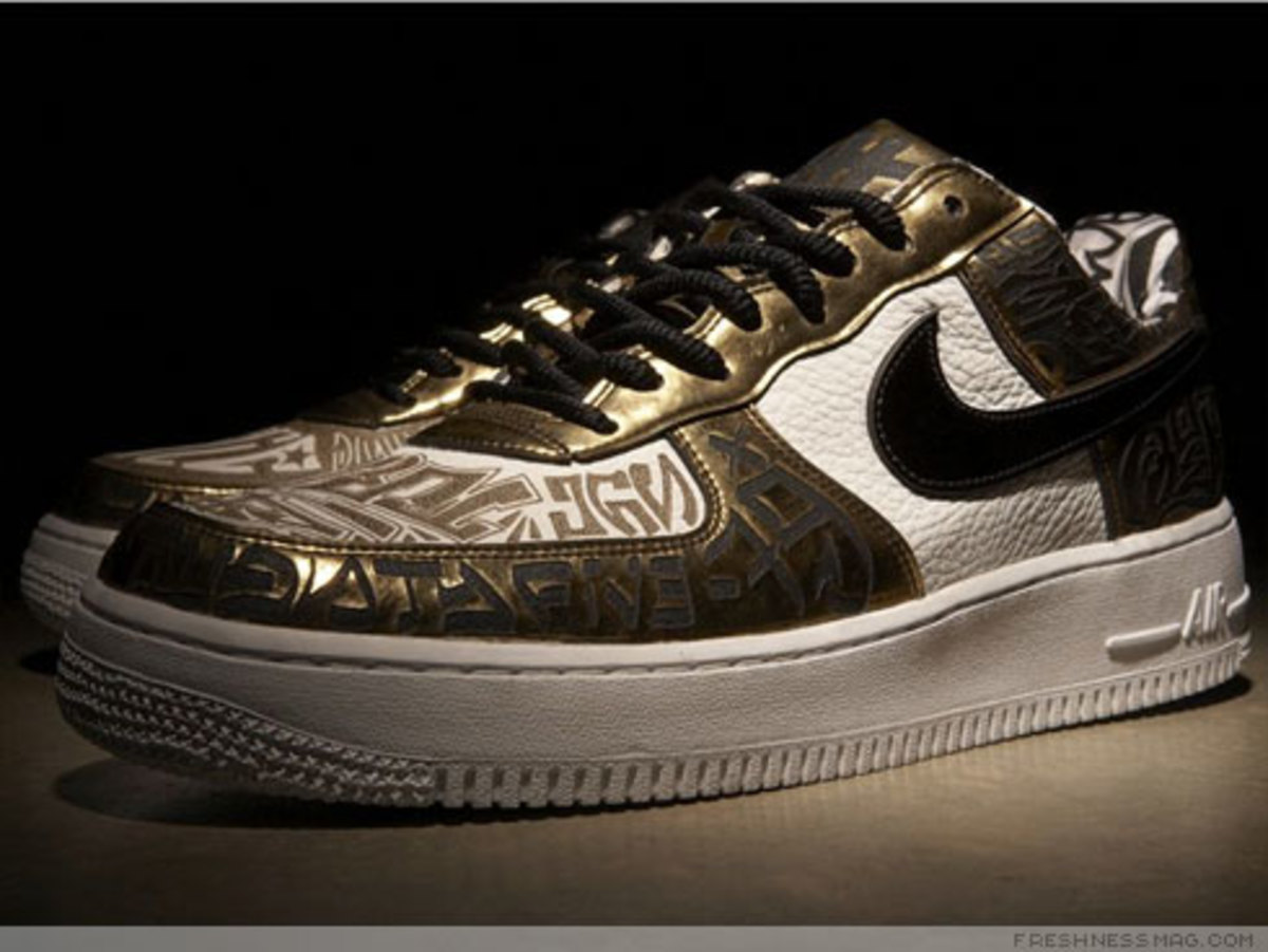 Nike x UNDFTD x Entourage - Turtle Air Force 1 - 15