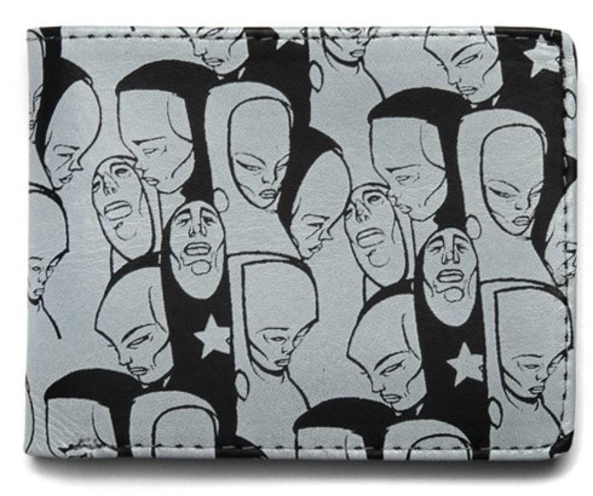 Sam Flores x Upper Playground - Faces Wallet