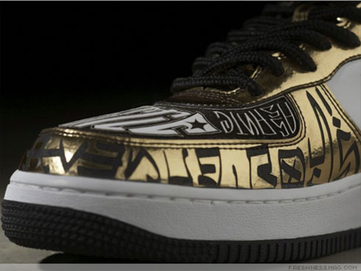 Nike x UNDFTD x Entourage - Turtle Air Force 1 - 10