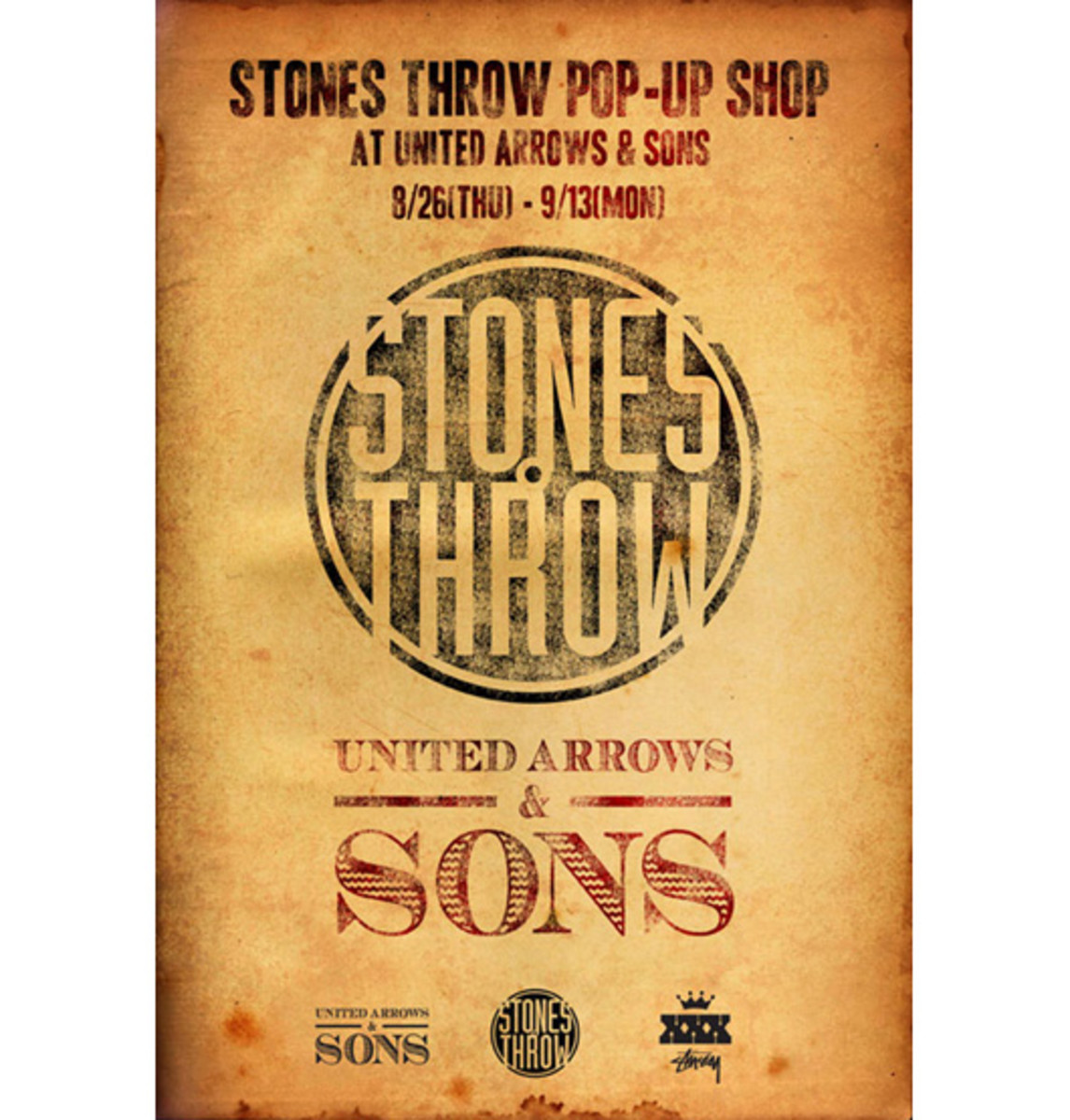 Stones Throw Pop Up Shop
